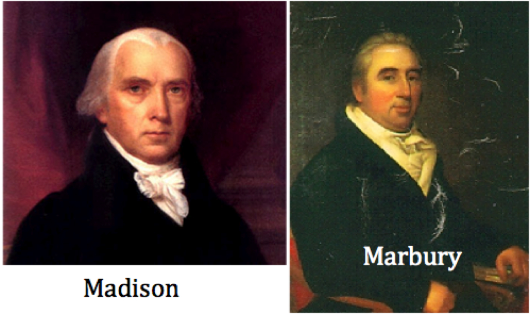 case brief summary marbury v madison Marbury v madison 5 us 137 1803 is the seminal case in american law which  established the power of the supreme court, on constitutional grounds,.